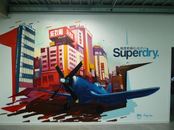 Fresque Superdry